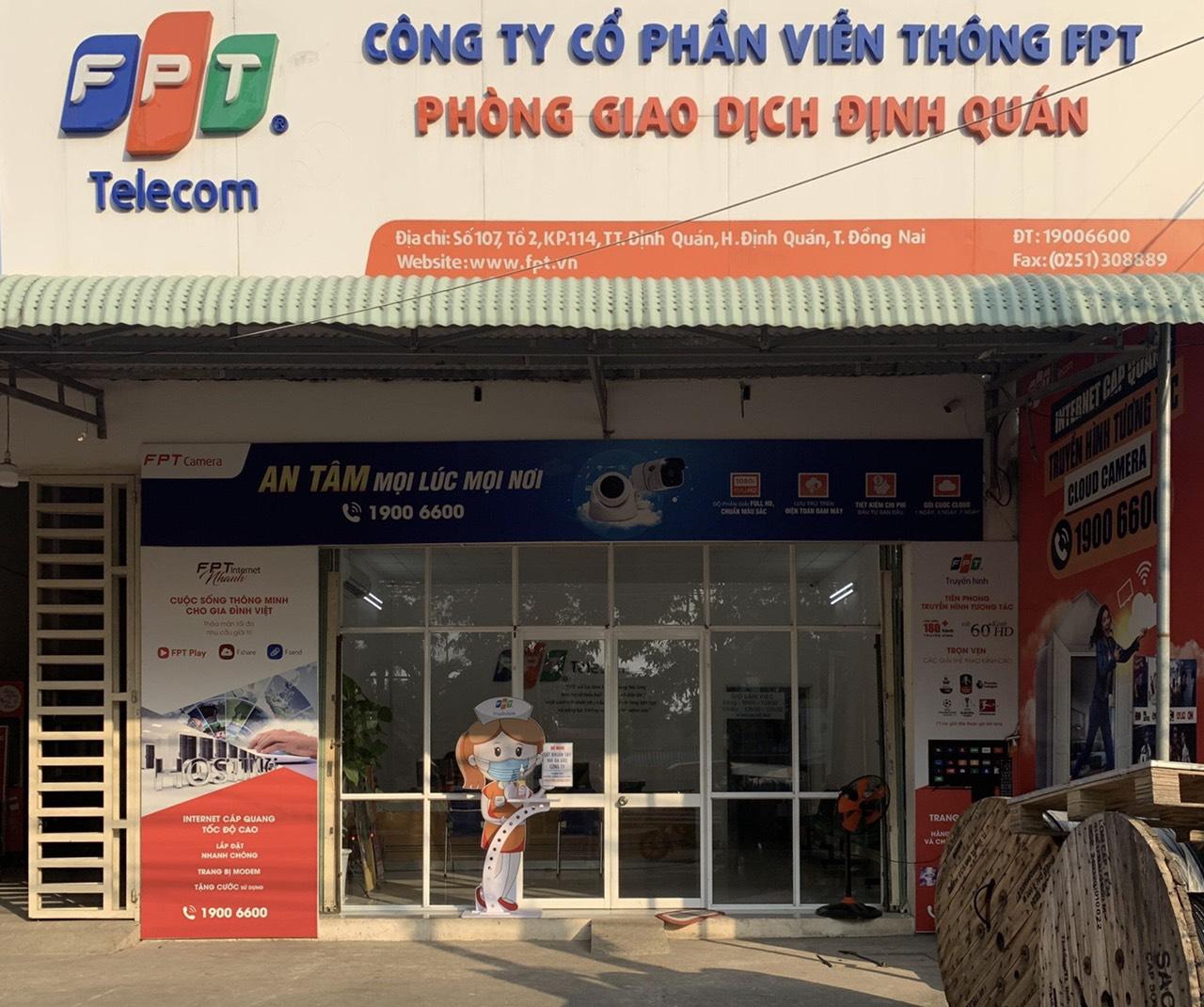 Văn phòng giao dịch FPT Định Quán